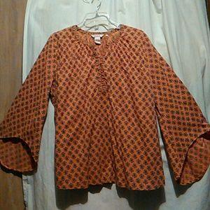Sundance blouse#bell sleeves